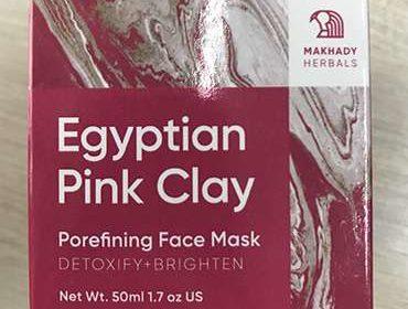Упаковка Egyptian Pink Clay.